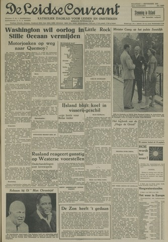 Leidse Courant 1958-09-01