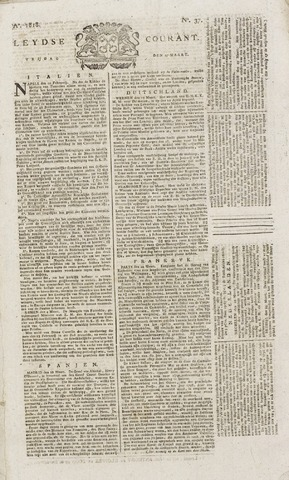 Leydse Courant 1818-03-27