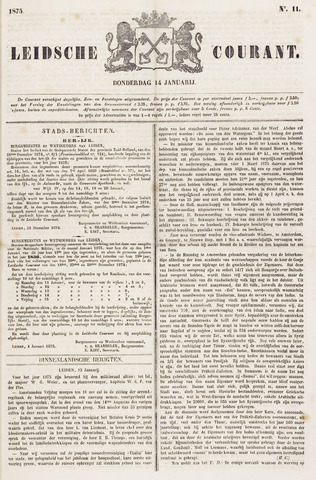 Leydse Courant 1875-01-14