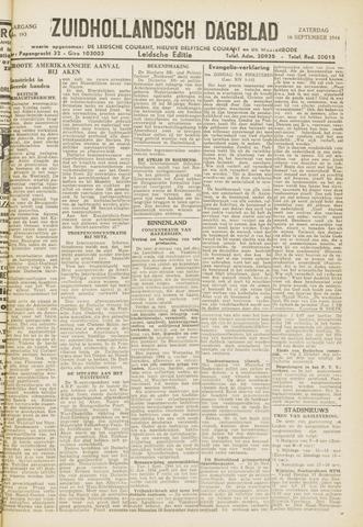Zuidhollandsch Dagblad 1944-09-16