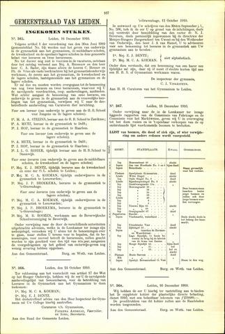 Handelingen van de Raad 1910-12-16