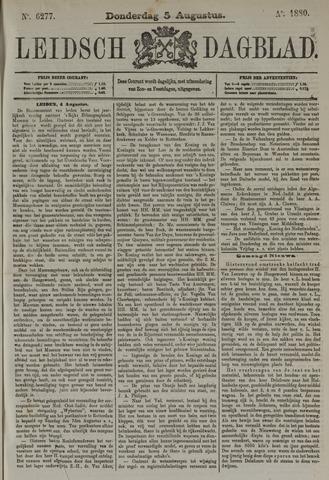 Leidsch Dagblad 1880-08-05