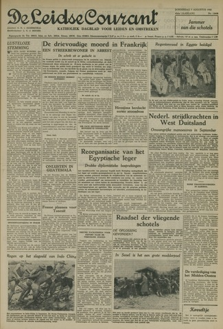 Leidse Courant 1952-08-07