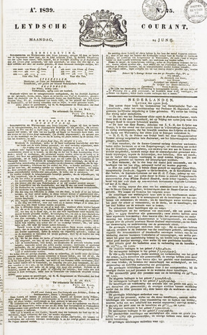 Leydse Courant 1839-06-24