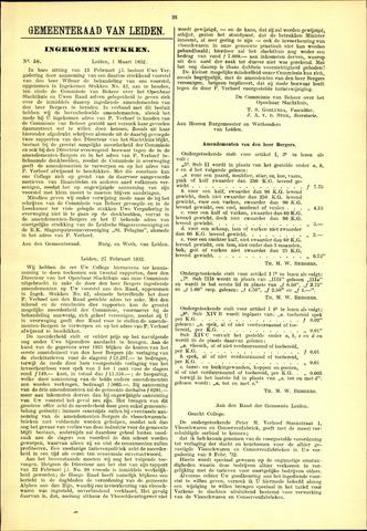 Handelingen van de Raad 1932-03-01