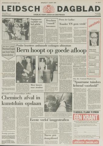 Leidsch Dagblad 1982-09-08