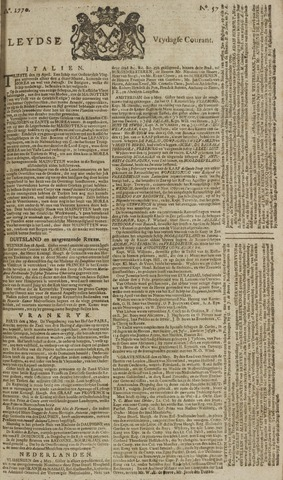 Leydse Courant 1770-05-11