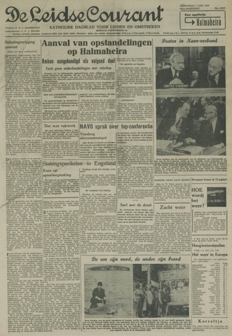 Leidse Courant 1958-05-07