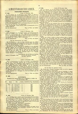 Handelingen van de Raad 1895-11-18