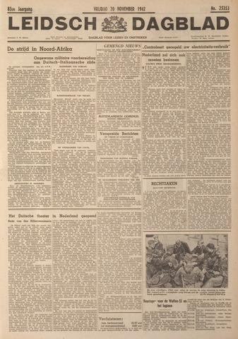 Leidsch Dagblad 1942-11-20