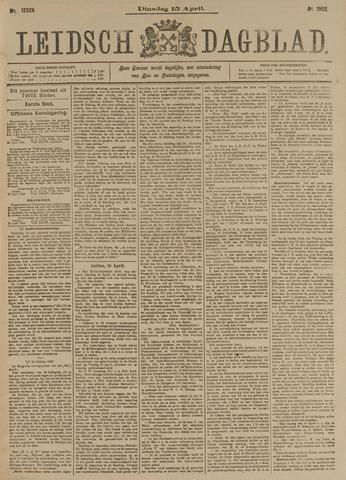 Leidsch Dagblad 1902-04-15