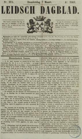 Leidsch Dagblad 1861-03-07
