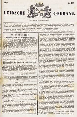 Leydse Courant 1873-11-04