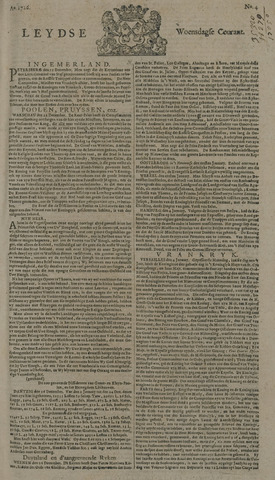 Leydse Courant 1726-01-09