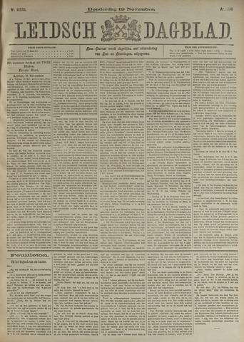 Leidsch Dagblad 1896-11-19