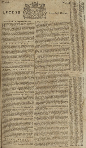 Leydse Courant 1758-11-13
