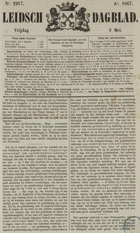 Leidsch Dagblad 1867-05-03