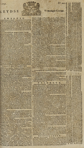 Leydse Courant 1751-08-25