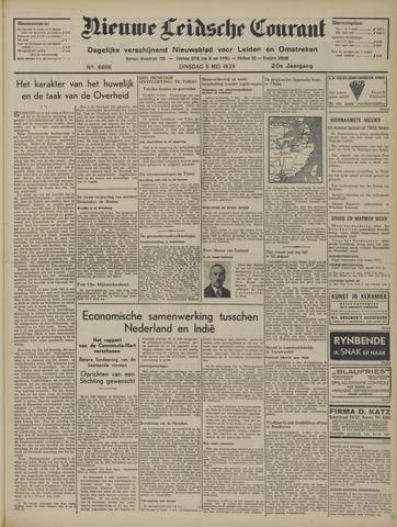 Nieuwe Leidsche Courant 1939-05-09