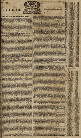 Leydse Courant 1753-04-18