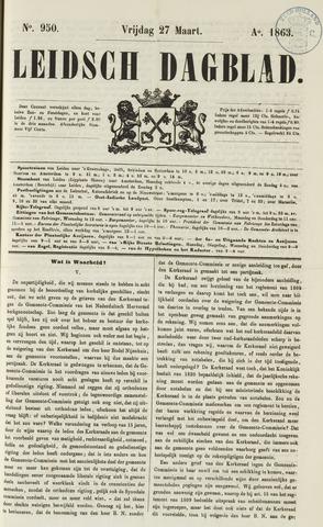 Leidsch Dagblad 1863-03-27