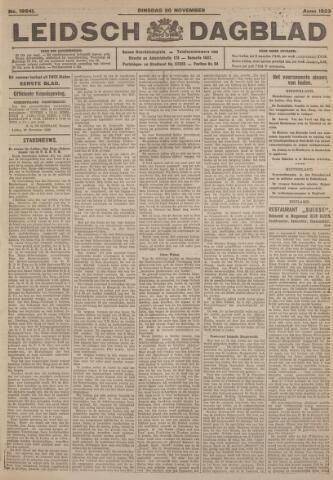 Leidsch Dagblad 1923-11-20