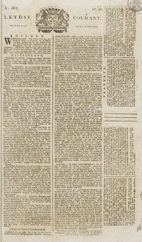 Leydse Courant 1815-08-02