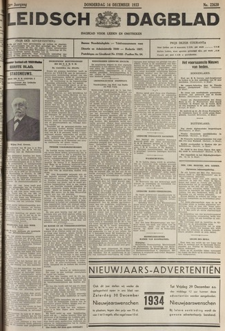Leidsch Dagblad 1933-12-14