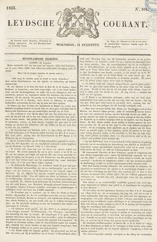 Leydse Courant 1853-08-31