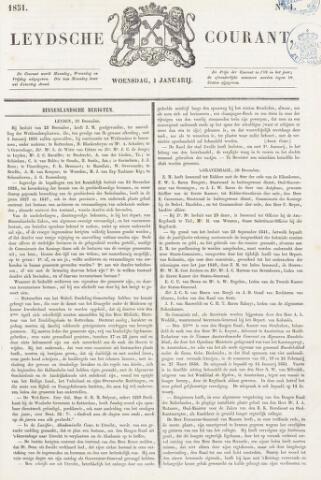 Leydse Courant 1851