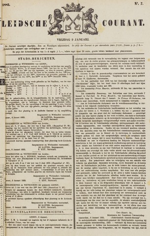 Leydse Courant 1885-01-09