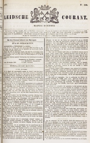 Leydse Courant 1876-10-30