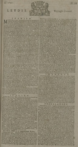 Leydse Courant 1740-07-22
