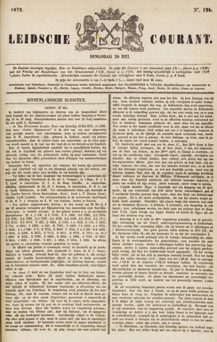 Leydse Courant 1872-05-28