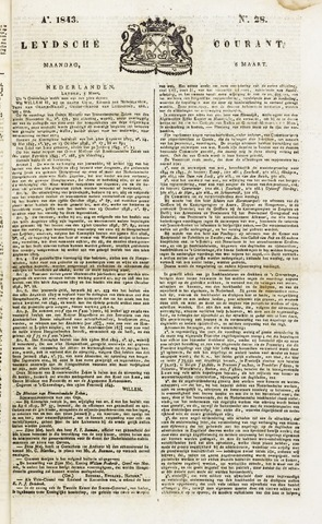 Leydse Courant 1843-03-06