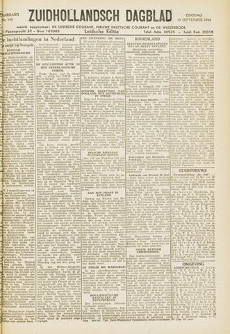 Zuidhollandsch Dagblad 1944-09-19