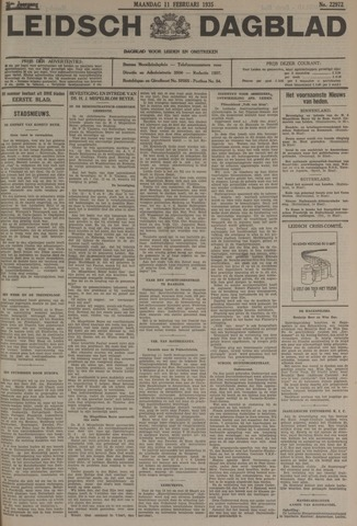 Leidsch Dagblad 1935-02-11
