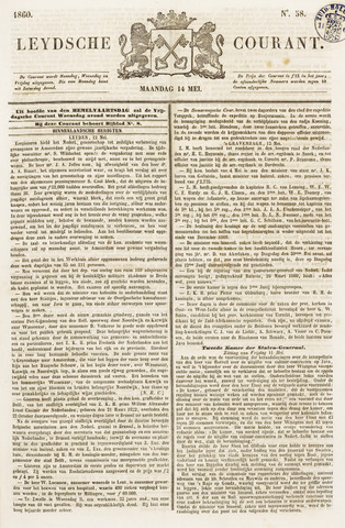 Leydse Courant 1860-05-14