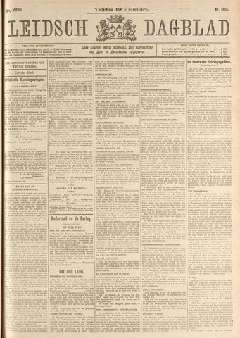 Leidsch Dagblad 1915-02-19