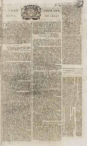 Leydse Courant 1815-03-20