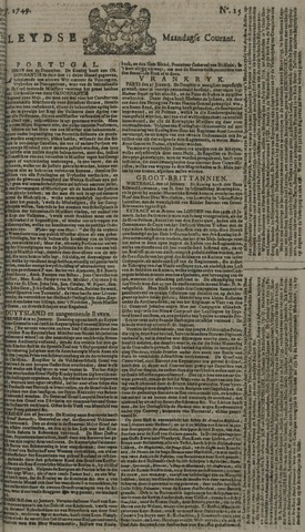 Leydse Courant 1749-02-03