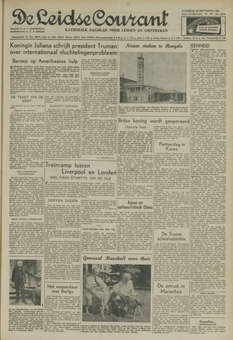 Leidse Courant 1951-09-22