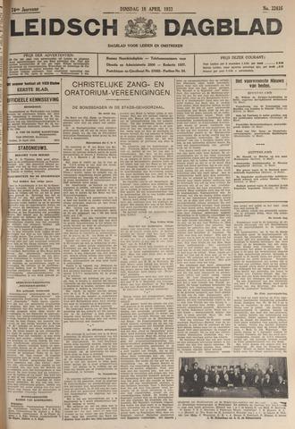 Leidsch Dagblad 1933-04-18