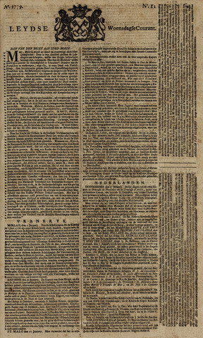 Leydse Courant 1779-01-27