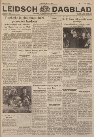 Leidsch Dagblad 1951-07-06