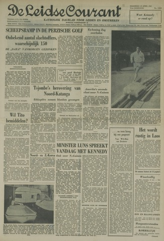 Leidse Courant 1961-04-10