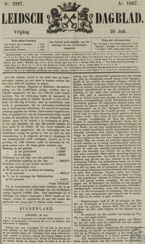 Leidsch Dagblad 1867-07-26