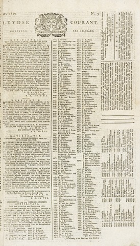 Leydse Courant 1819-01-06