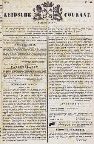 Leydse Courant 1879-06-30