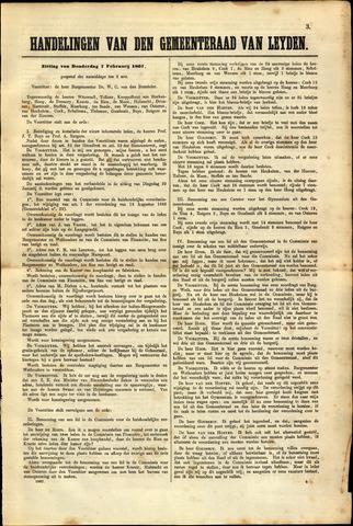 Handelingen van de Raad 1867-02-07